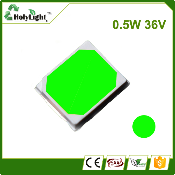 36V 0.5W Green Color SMD 2835